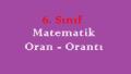 6. Sınıf Matematik Oran – Orantı Online Test