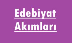 Edebiyat Akımları Online Test Soruları