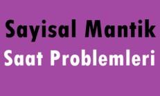Online Çözümlü Sayısal Mantık Soruları – Saat Problemleri