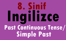 8. Sınıf İngilizce Online Test – THE FOUNDER OF TURKEY : ATATÜRK (Past Continuous Tense/Simple Past)