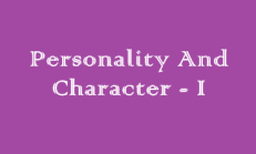 Personality And Character – Online Test ( 9. Sınıf İngilizce)