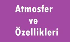 Atmosfer ve Özellikleri Online Test
