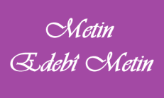 Metin – Edebî Metin 9. Sınıf Türk Edebiyatı Online Test