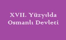 17. Yüzyılda Osmanlı Devleti Online Test