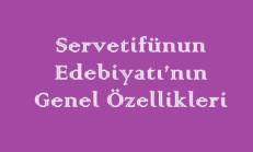 Servetifünun Edebiyatı'nın Genel Özellikleri Online Test