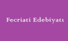 Fecriati Edebiyatı Online Test