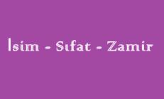 İsim – Sıfat – Zamir (Karma) Online Test