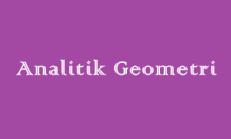 Analitik Geometri Online Test