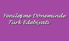 Yenileşme Dönemi Türk Edebiyatı Online Test