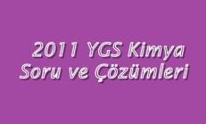 2011 YGS Kimya Soru ve Çözümleri Online Test