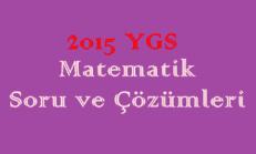 2015 YGS Matematik Soru ve Çözümleri Online Test