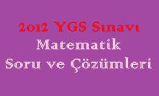 2012 YGS Matematik Soru ve Çözümleri Online Test