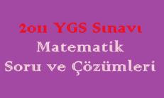 2011 YGS Matematik Soru ve Çözümleri Online Test
