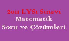 2011 LYS Matematik Soru ve Çözümleri Online Test