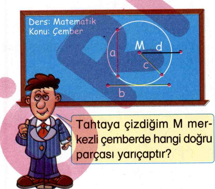 Çemberin yarıçapı ile ilgili soru