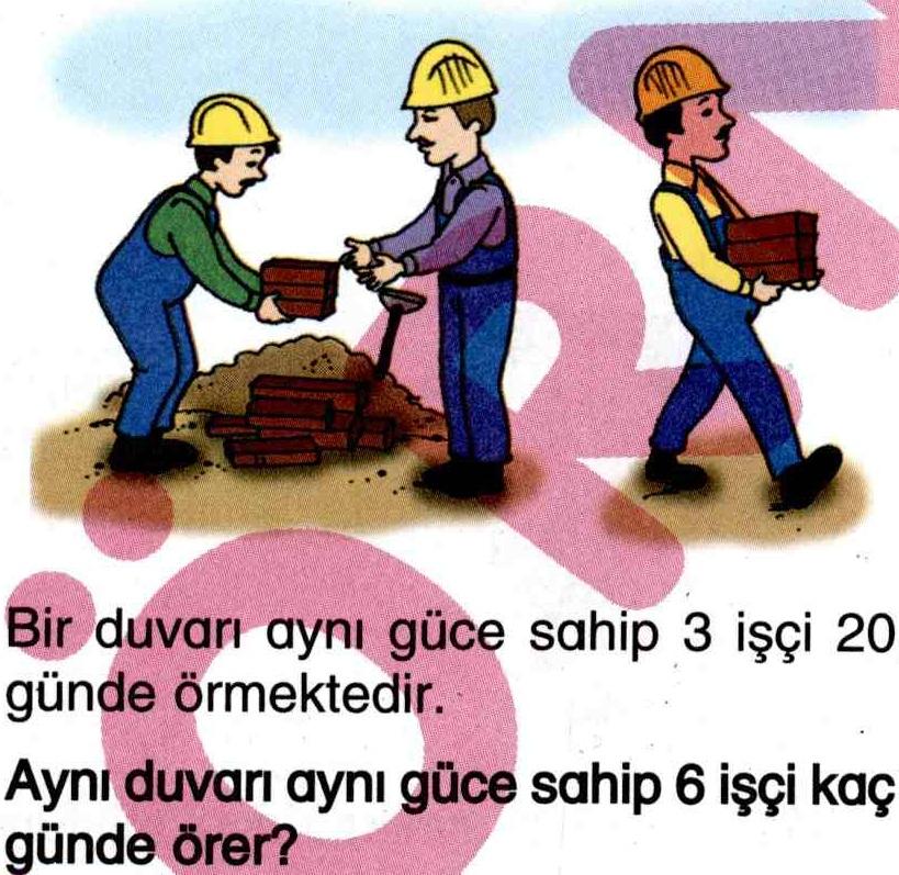 İş gücü hesaplama ile ilgili soru