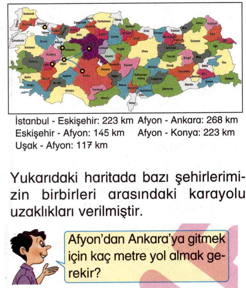 Haritaya göre mesafe hesaplama ile ilgili soru