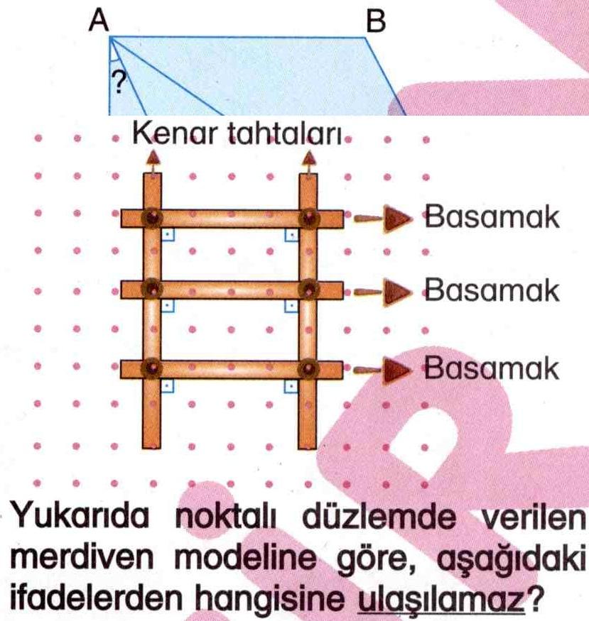 Merdiven modeli ile ilgili soru